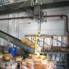manipulators for rubber block handling