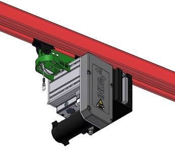 Liftronic Easy overhead rail mounted