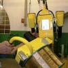 manipolatori di bobine di filo d'acciaio nell'industria degli pneumatici